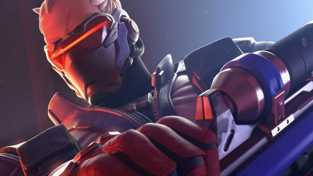Soldier 76 artwork from Overwatch