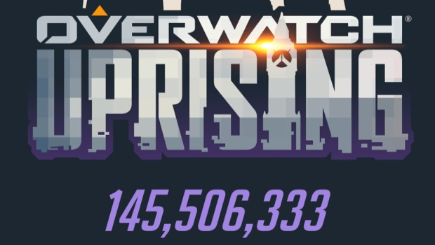 Overwatch Uprising event infographic header image