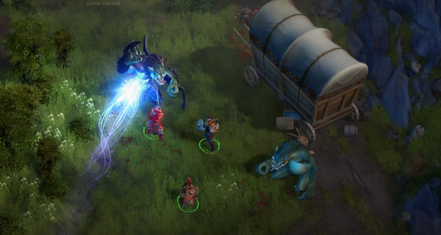 First gameplay screenshot from the upcoming RPG Pathfinder: Kingmaker