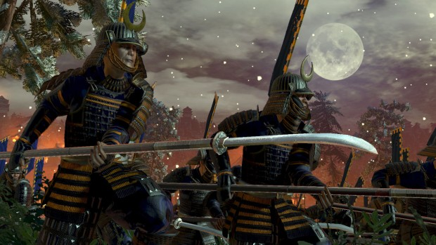 Total War: Shogun 2 screenshot of samurai in battle