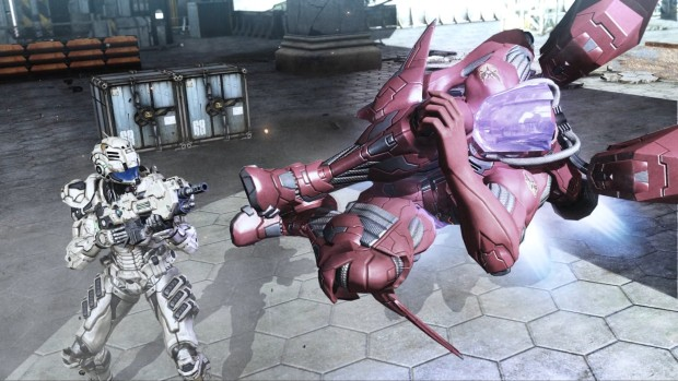 Vanquish screenshot from the PC version on Steam