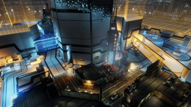 Titanfall 2 screenshot of the War Games map