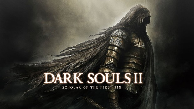 Dark Souls 2 Scholar of the First Sin artwork and logo