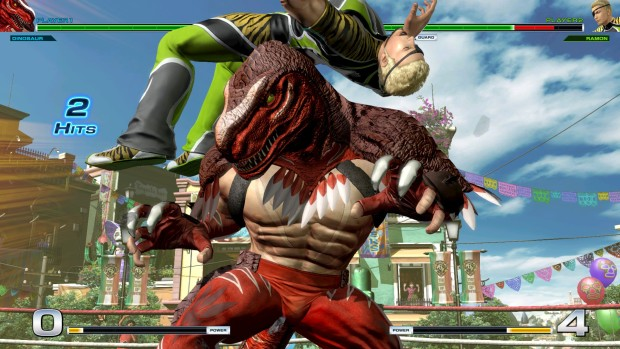 Dinosaur from King of Fighters XIV