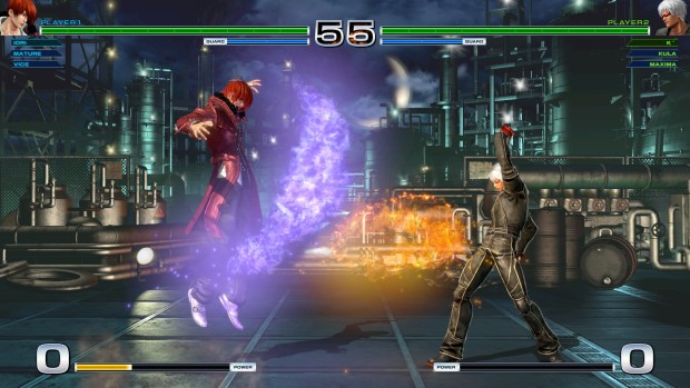 King of Fighters XIV screenshot of a magic duel