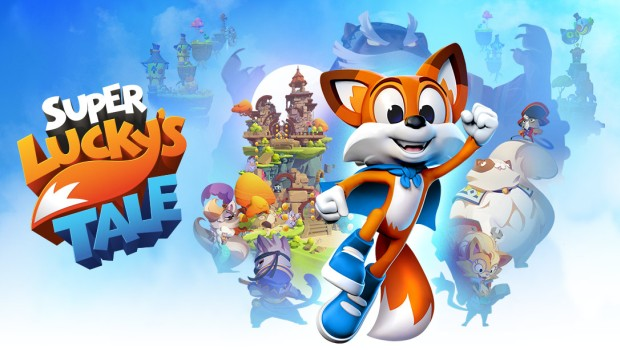 Super Lucky's Tale official logo and artwork