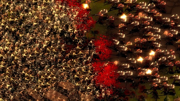 They Are Billions screenshot of the horde attacking