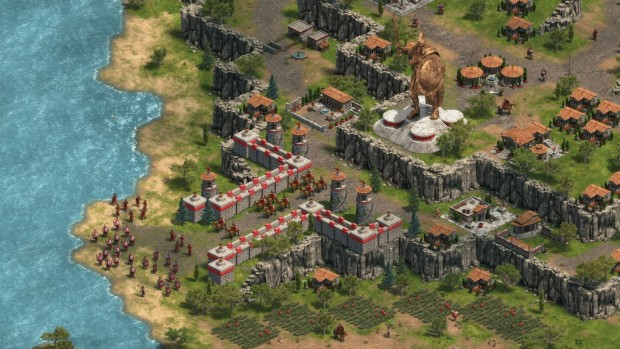 Age of Empires: Definitive Edition screenshot of the Colossus