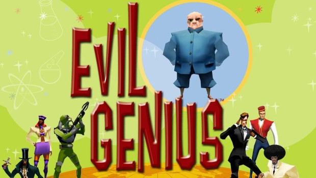 Evil Genius official artwork and logo
