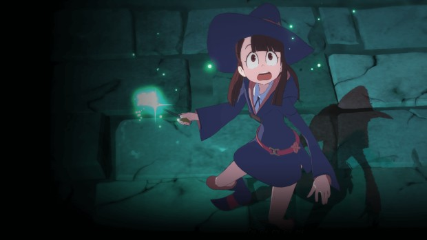 Little Witch Academia: Chamber of Time close-up screenshot of the main character
