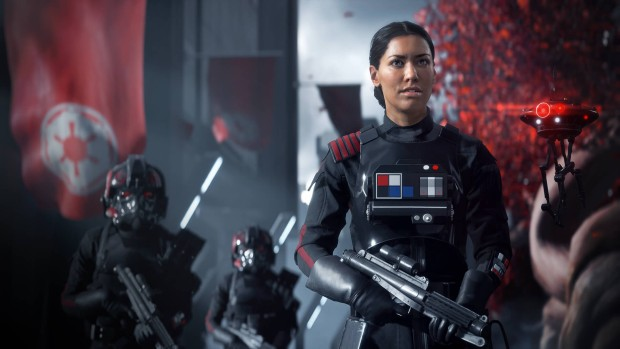 Star Wars Battlefront 2 screenshot of the singleplayer main character