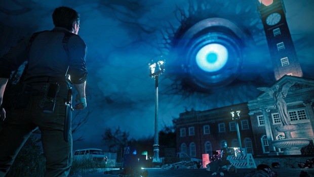 The Evil Within 2's giant eye in the sky