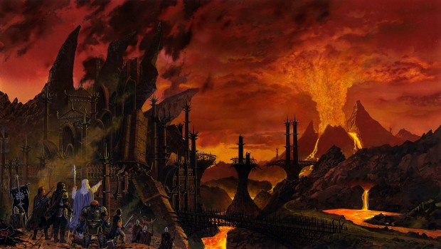 The Lord of the Rings Online artwork for the Mordor expansion