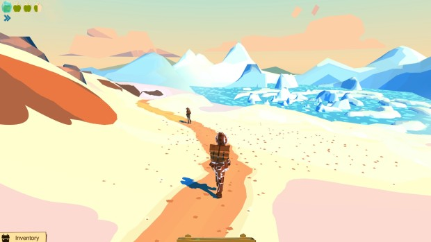 The Trail: Frontier Challenge screenshot of a lovely beach