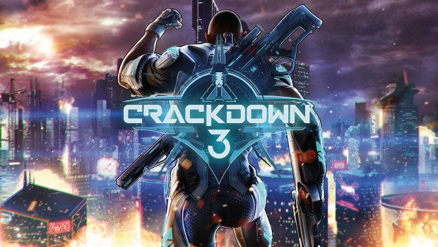 Crackdown 3 official artwork and logo