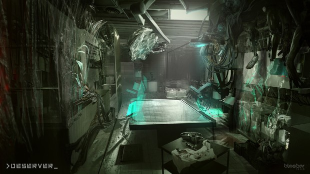 Observer is a cyberpunk horror game from the developers ...