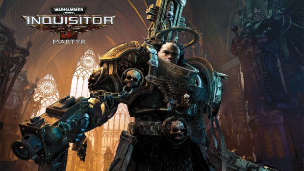 Warhammer 40,000 Inquisitor - Martyr official artwork and logo