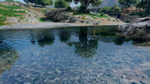 A good looking pond in GTA V