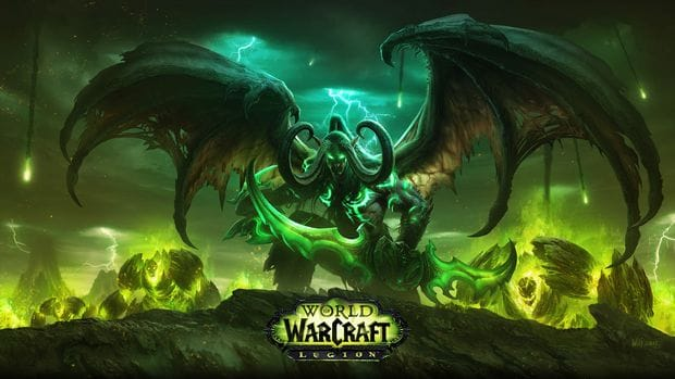 World of Warcraft: Legion's Illidan artwork