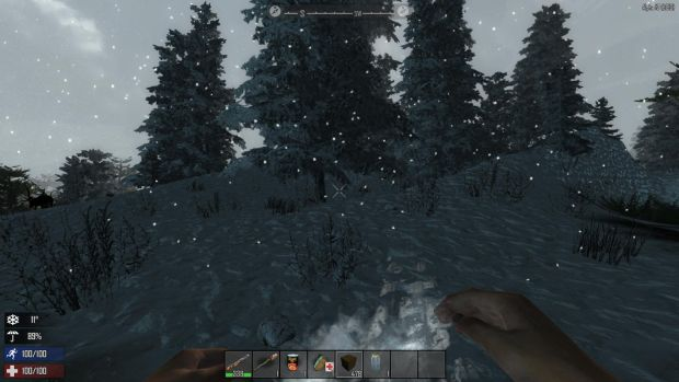 7 Days To Die has added a new extreme weather survival system with deadly blizzards and scorching heat