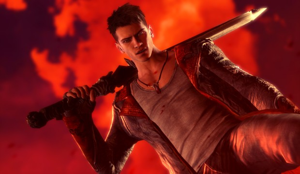 Dante from the new DmC game