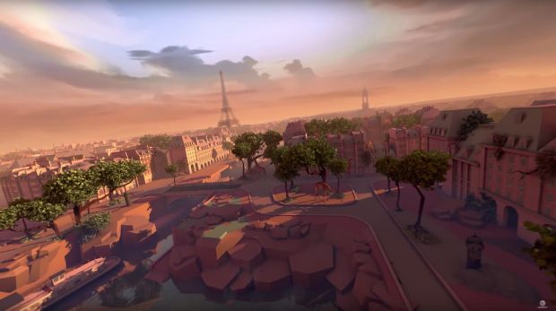 Soar through the skies of Paris in Eagle Flight