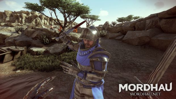 Mordhau is a medieval first person fighting game with a strong focus on skill and competetive elements