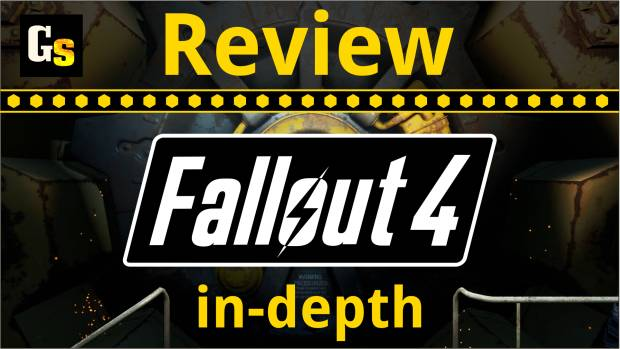 A simple image saying Fallout 4 review