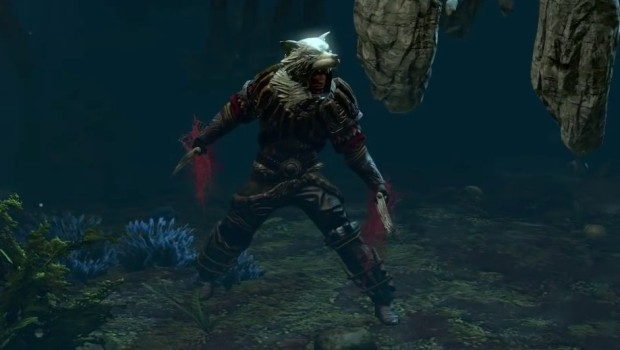 The Wolven King - One of the new talisman bosses in Path of Exile