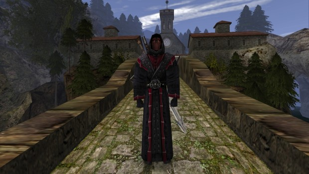 The Gothic series are one of the first well made open world indie RPGs