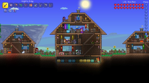 Terraria is one of the most fun coop games around
