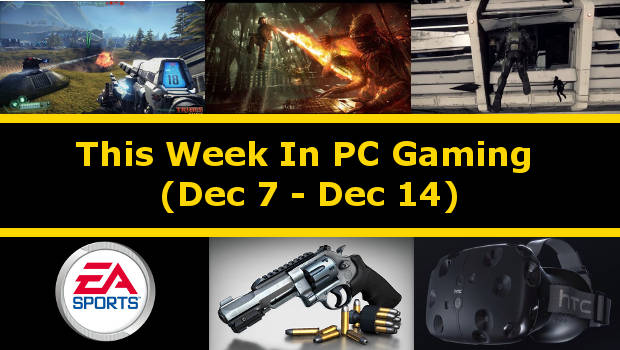 This Week In PC Gaming is a series of articles where I'll showcase you everything that happened the past week and give you easy access to further information