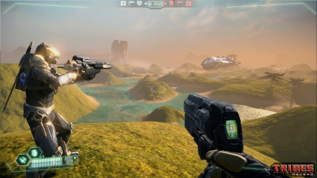 Tribes:Ascend update removes classes and adds a really good loadout system