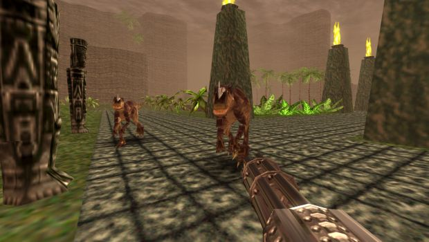 Remastered version of the classic FPS Turok is coming this Thursday, December 17th