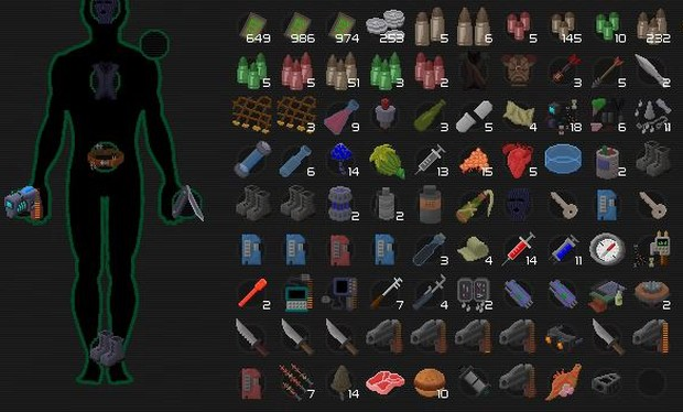 You will acquire a ton of crafting items you simply can't use when playing UnderRail