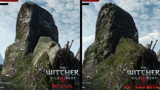 The Witcher 3 HD texture mod update brings improvements to rock textures and more