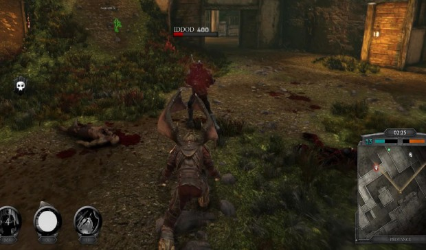 In Nosgoth you need to make sure to cower your flanks and your rear otherwise you might get a surprise