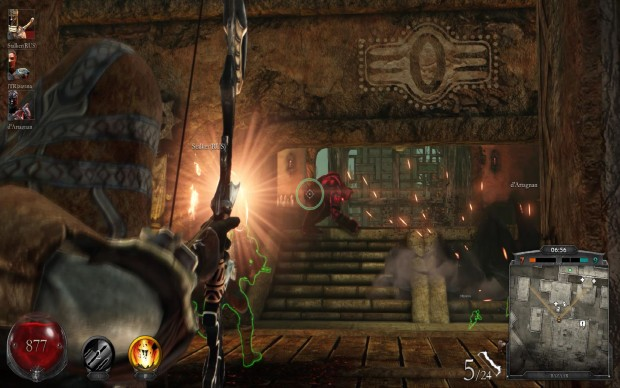 In Nosgoth you have to cower your team or die alone.