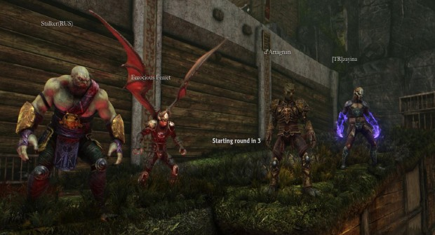 In Nosgoth you need to have a well balanced team in order to win