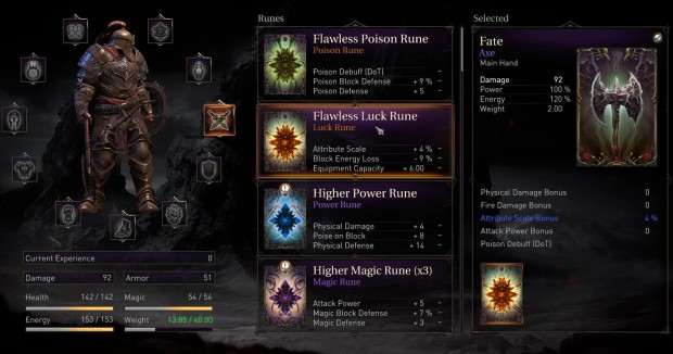 Lords of the Fallen rune crafting system can help you enchant your weapons and armor