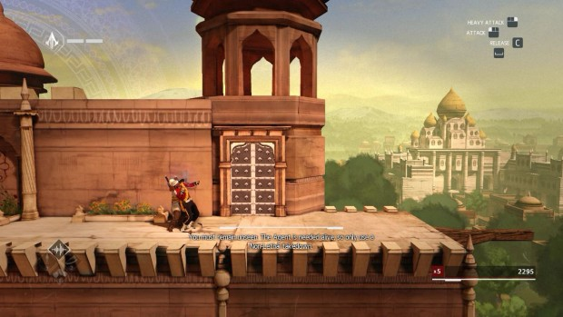 Assassin's Creed Chronicles India features some rather dashing graphics