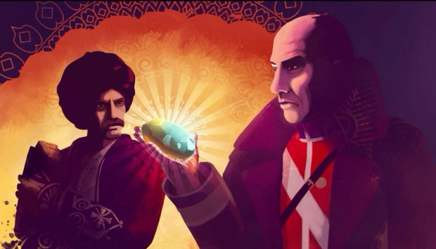 Assassins Creed Chronicles: India cutscenes have very pretty art to look at