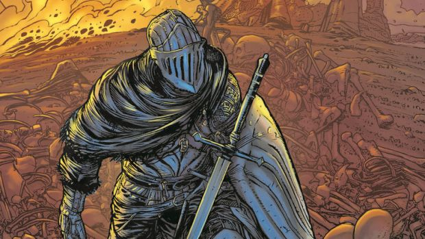 Dark Souls #1 is an official comic that will be releasing this April