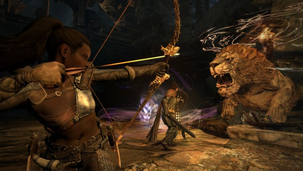 From my three or so hours played Drago's Dogma: Dark Arisen is an excellent PC port