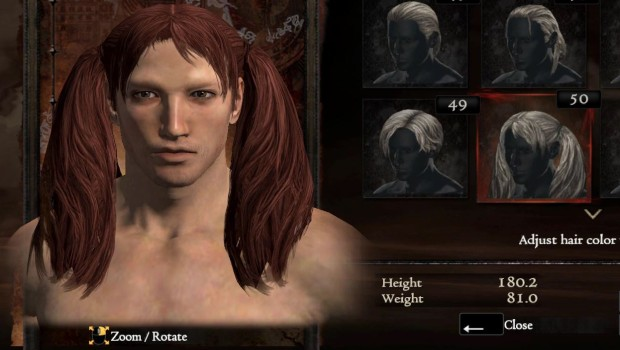 Dragon's Dogma: Dark Arisen PC has some silly hairstyles