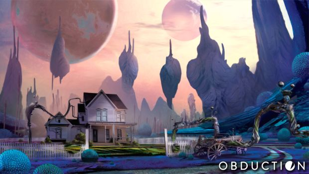 Artwork for the Myst successor Obduction