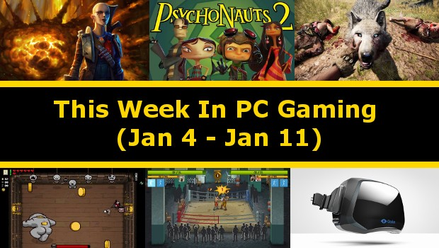 A summary of all the big things that happened in PC gaming from Jan 4 to Jan 11