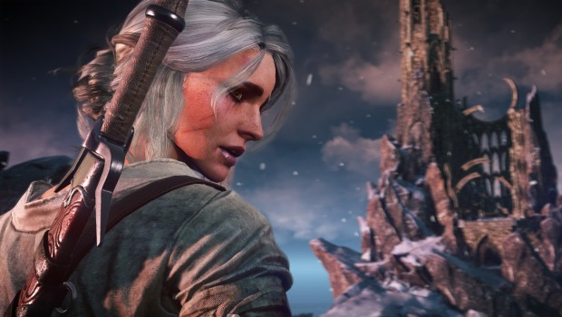 The Witcher 3 screenshot of Ciri