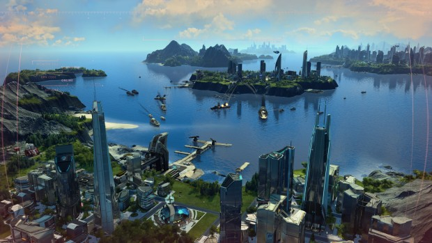 Anno 2025 Frontiers screenshot showcasing naval warfare