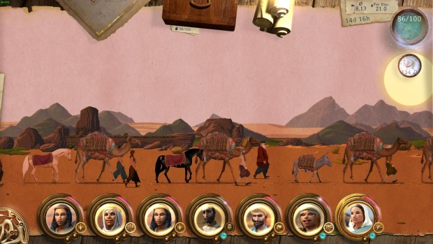 Caravan gameplay screenshot